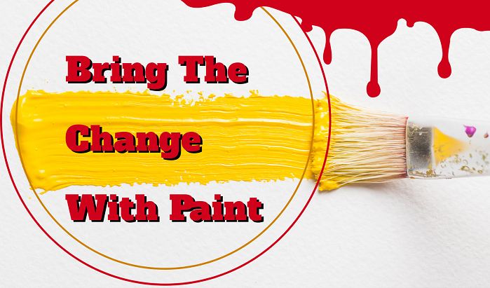 Bring The Change With Paint Thumbnail